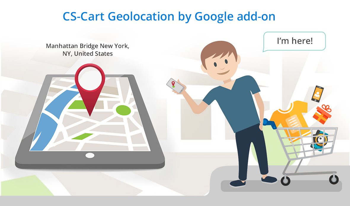 Geolocation by Google add-on